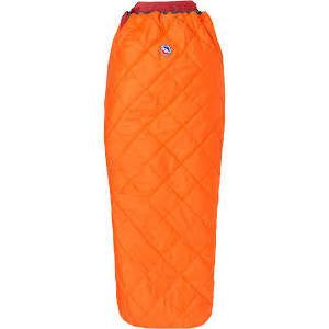 Big Agnes Cross Mountain 45-Degree Synthetic Sleeping Bag- Orange - OutdoorsInc.com