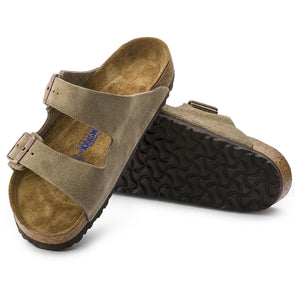 Birkenstock Women's Arizona Soft Footbed - Taupe - OutdoorsInc.com