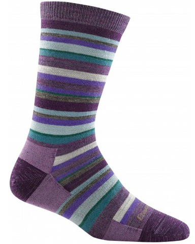 Darn Tough Women's Sassy Stripe Crew Light Sock