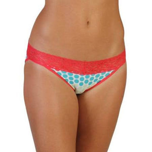 Exofficio Women's Give-N-Go Print Lacy Low Bikini - OutdoorsInc.com