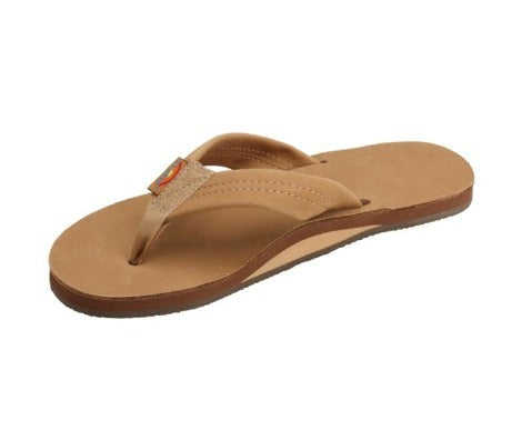 Rainbow Sandals Women's Premier Leather Single Layer Arch (Wide Strap) - OutdoorsInc.com