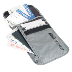 Sea To Summit Travelling Light Neck Wallet RFID - OutdoorsInc.com