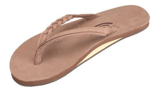 Rainbow Sandals Women's Flirty Braidy Leather Sandal - OutdoorsInc.com