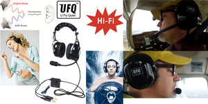 What's outstanding features of UFQ  ANR aviation headset A28
