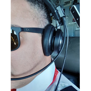 AV Mike-2 aviation headset pilot headset microphone suit for Bose QC25,QC35 good quality