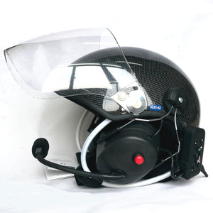 YUENY BTCFYPHH-4000F bluetooth intercom carbon fiber paramotor helmets powered paragliding