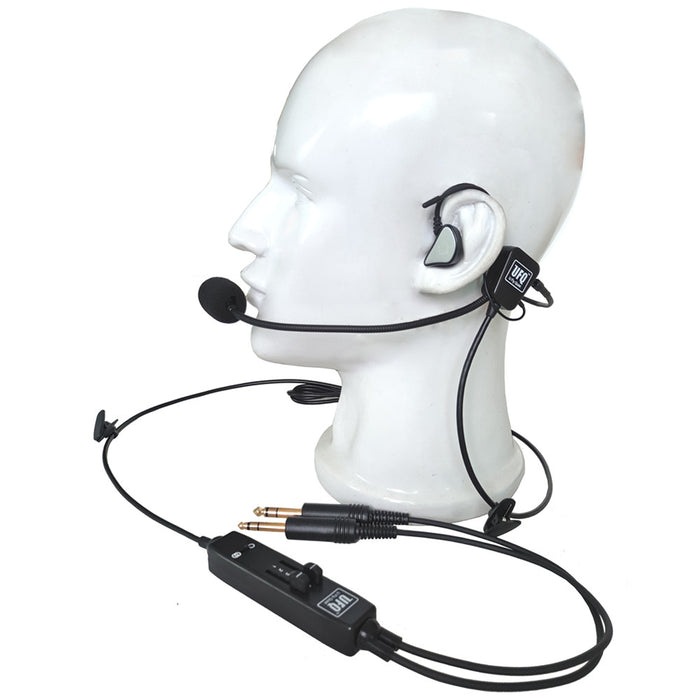 L1 in-ear Aviation Headset UFQ pilot headsets  Super Light weight