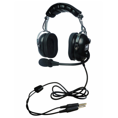 PNR P2 aviation headset pilot headsets passive noise cancelling for pilots and passengers