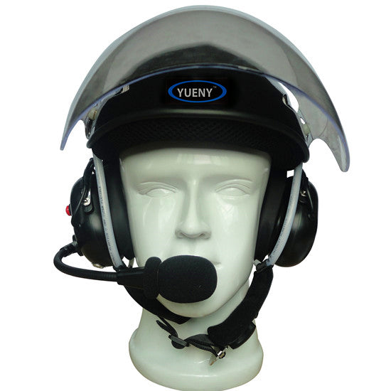YUENY YPHH-2000F paramotor helmet with noise canceling headset powered paragliding