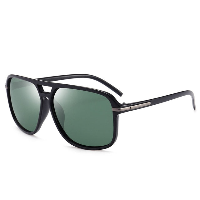 Oversized Sunglasses Men Polarized Mirror