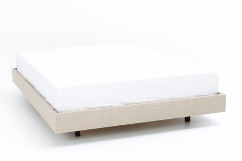 Floating Bed Base | Upholstered