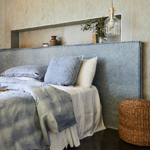 Denim Slipcover for Long Time Bedhead
