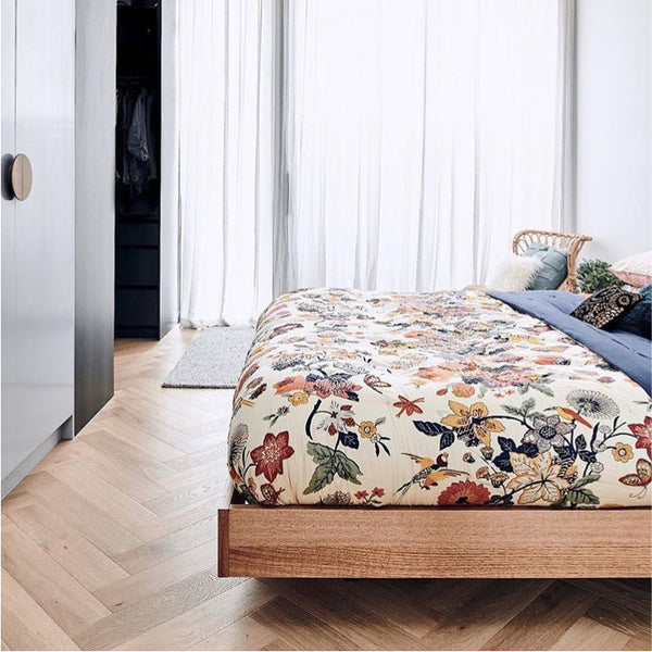 Floating Bed Base | Timber