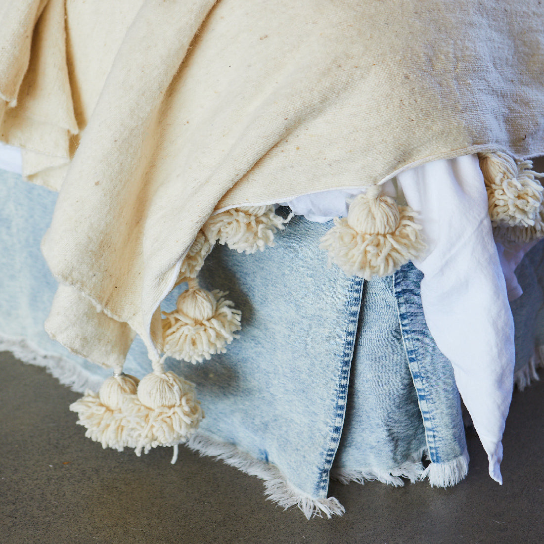 Denim Valance