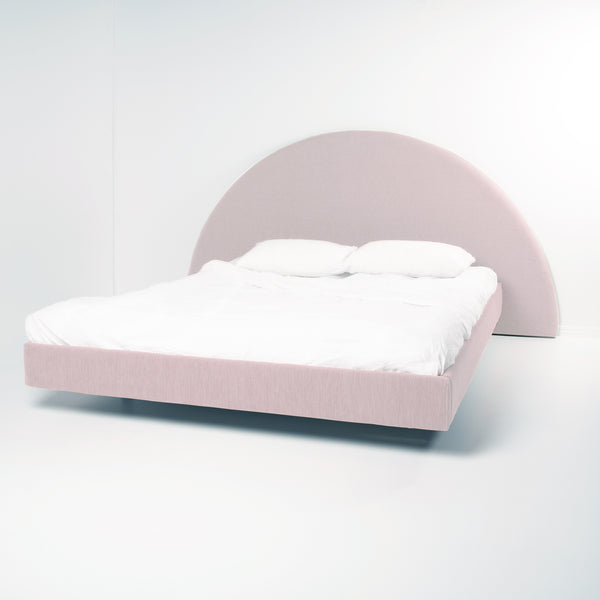 Bed Frame in Round Shape by Create Estate