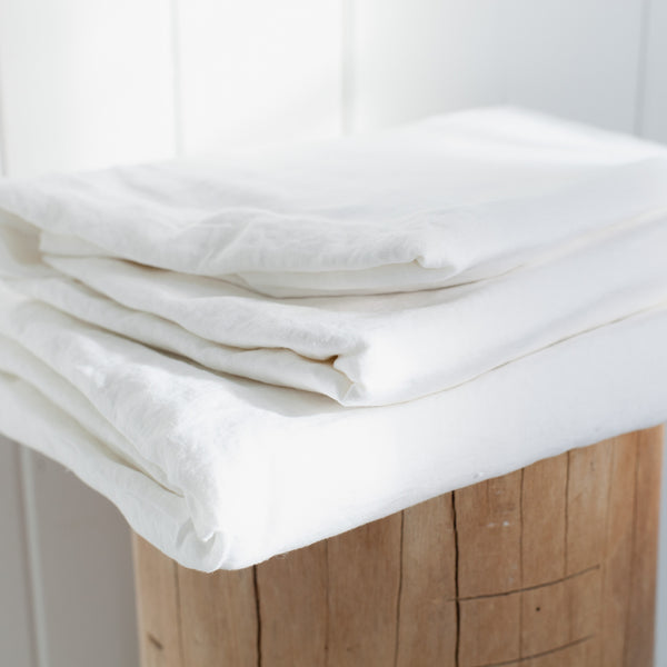 100% Pure Linen Sheet Separates