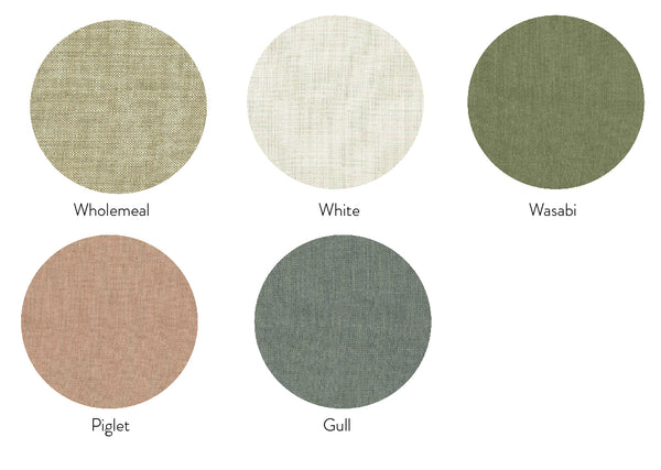 Linen Bedhead Fabric Samples
