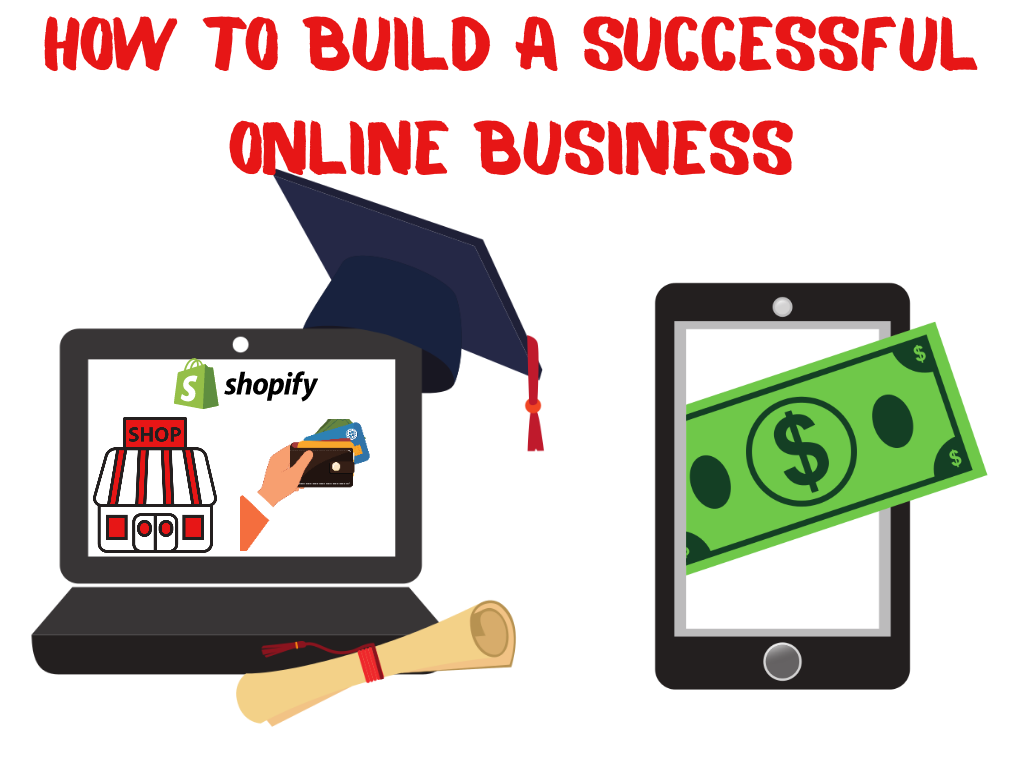 How To Build Your Own Successful Online EMPIRE Step By Step Course (Instantly Emailed) + FREE SHOPIFY STORE