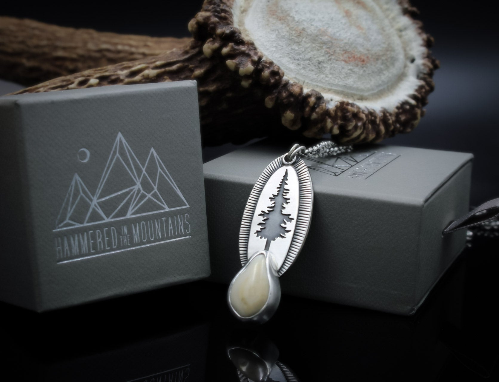 Elk Ivory Necklace
