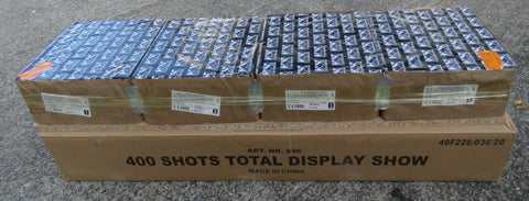 400 Shots Total Display Show
