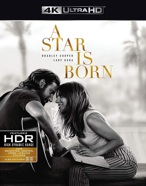 A Star is Born VUDU 4K or iTunes 4K via Movies Anywhere