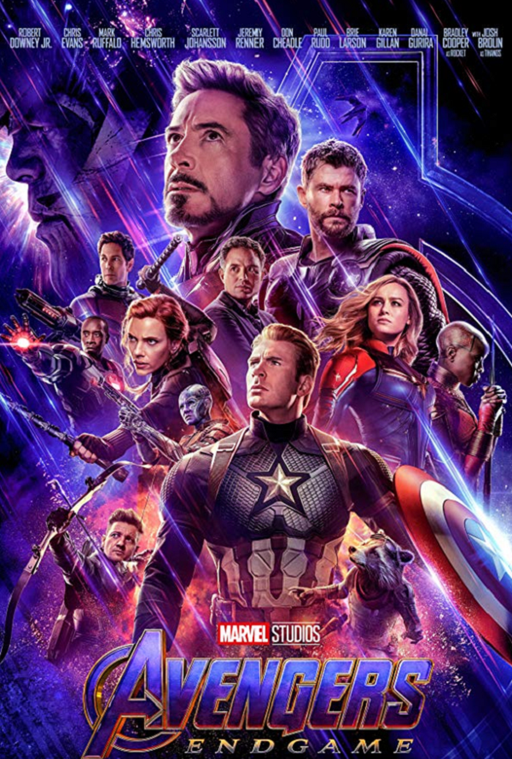 Avengers Endgame Google Play HD (Transfers to MA, iTunes HD, VUDU HD)
