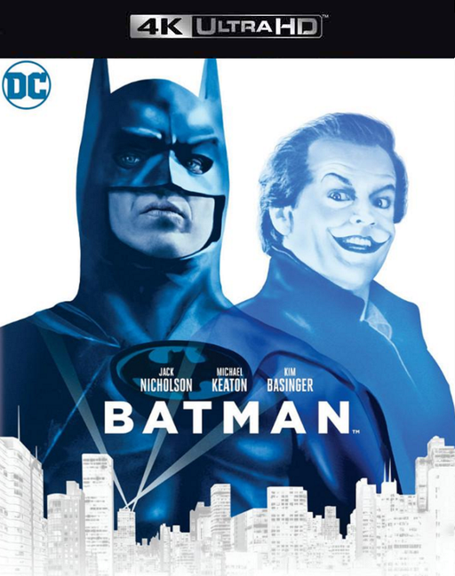 Batman VUDU 4K or iTunes 4K via Movies Anywhere