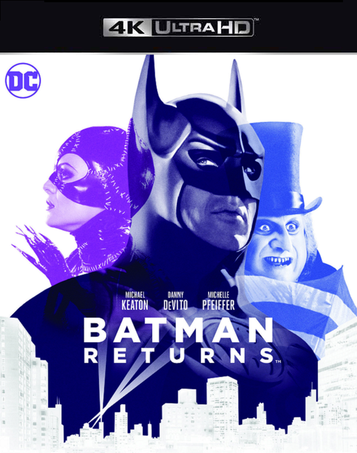 Batman Returns VUDU 4K or iTunes 4K via Movies Anywhere