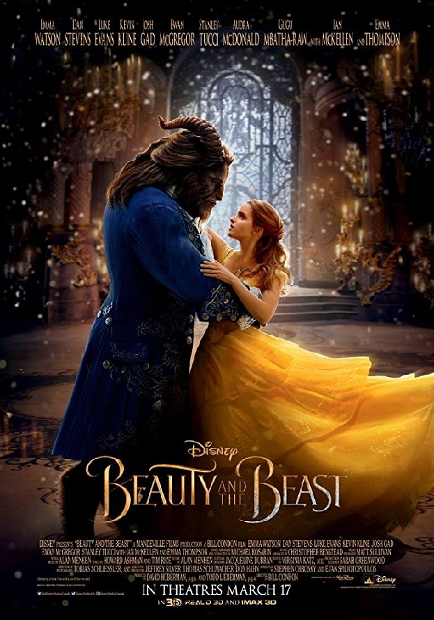 Beauty and the Beast 2017 Google Play HD (Transfers to MA)