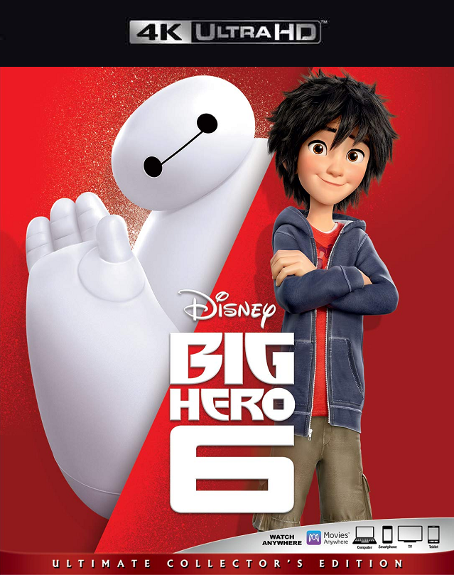Big Hero 6 MA 4K VUDU 4K iTunes 4K