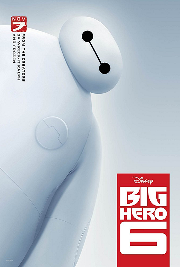 Big Hero 6 Google Play HD (Transfers to VUDU/iTunes via MA)