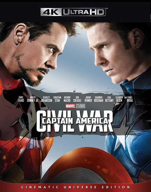 Captain America Civil War MA 4K VUDU 4K iTunes 4K