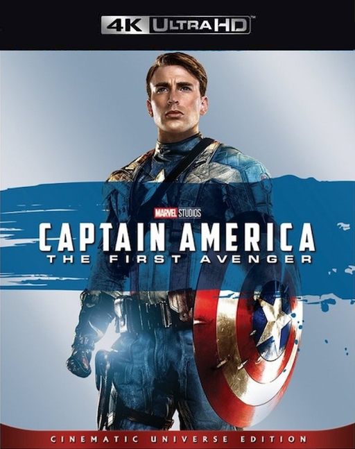 Captain America The First Avenger MA 4K VUDU 4K iTunes 4K
