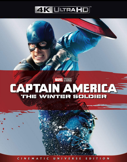 Captain America Winter Soldier MA 4K VUDU 4K iTunes 4K