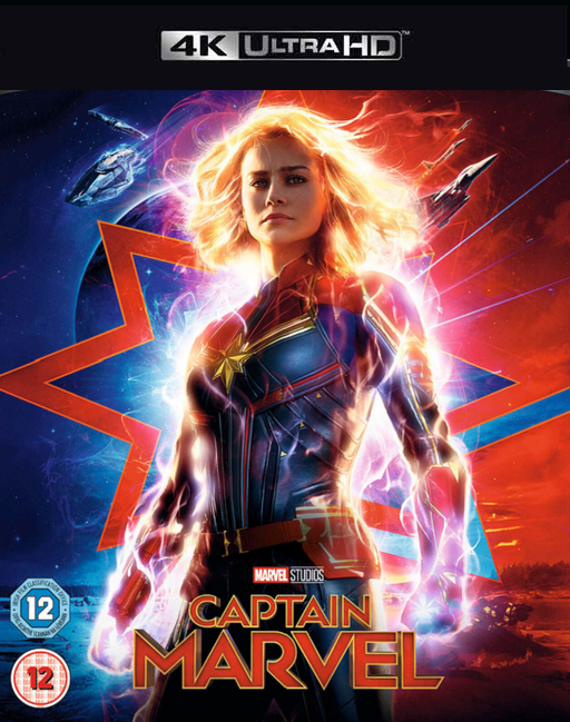 Captain Marvel MA 4K VUDU 4K