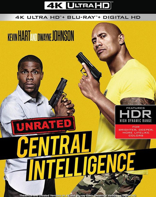 Central Intelligence VUDU 4K or iTunes 4K via Movies Anywhere