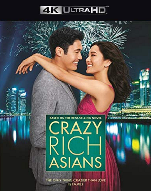 Crazy Rich Asians MA VUDU 4K iTunes 4K