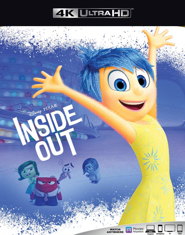 Inside Out MA 4K VUDU 4K iTunes 4K