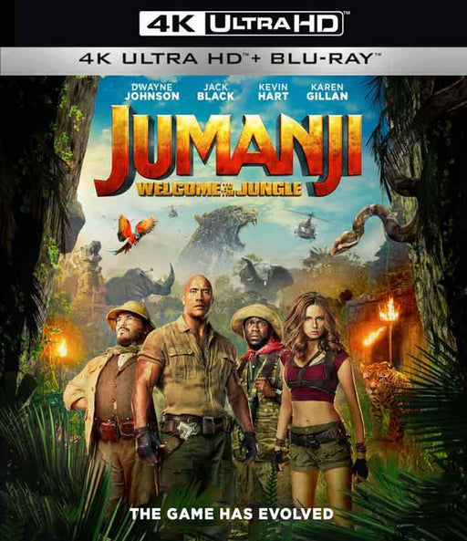 Jumanji: Welcome to the Jungle UV 4K or iTunes 4K via Movies Anywhere