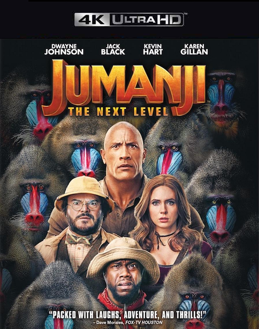 Jumanji The Next Level VUDU 4K Instawatch (iTunes 4K via MA) Early Release