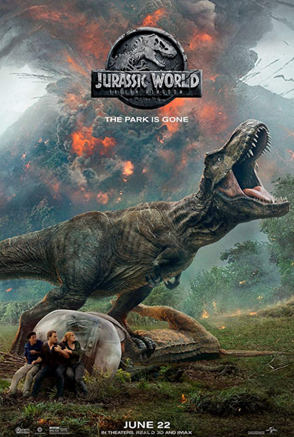 Jurassic World Fallen Kingdom VUDU HD or iTunes HD via Movies Anywhere