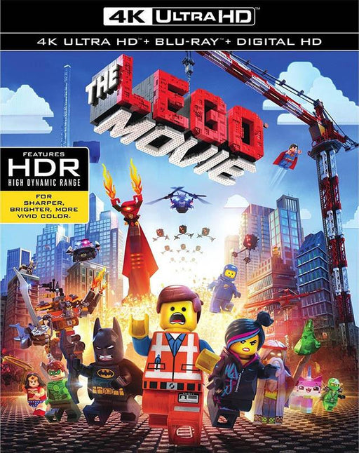 The Lego Movie VUDU 4K or iTunes 4k via Movies Anywhere