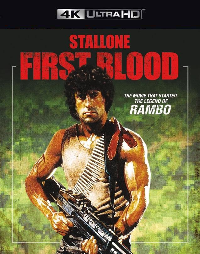 RAMBO FIRST BLOOD 4K VUDU 4K Instawatch