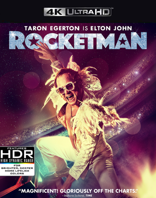 Rocketman VUDU 4K Instawatch