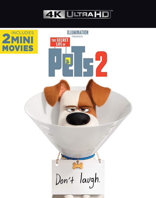 Secret Life of Pets 2 VUDU 4K or iTunes 4K via MA