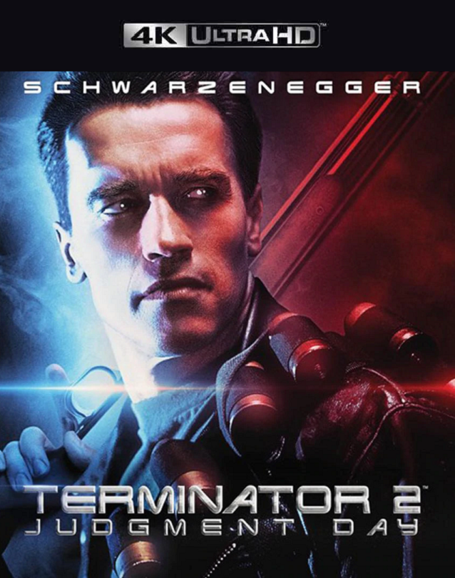 Terminator 2 Judgment Day VUDU 4K