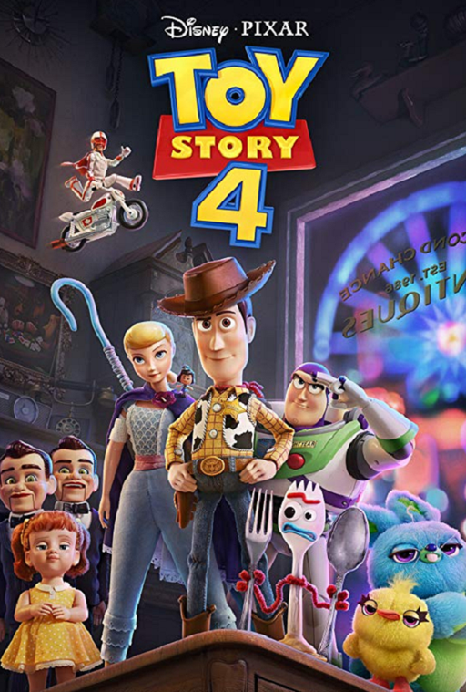 Toy Story 4 MA VUDU HD iTunes HD