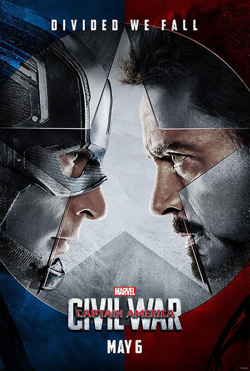 Captain America Civil War Google Play HD (Transfers to Movies Anywhere)