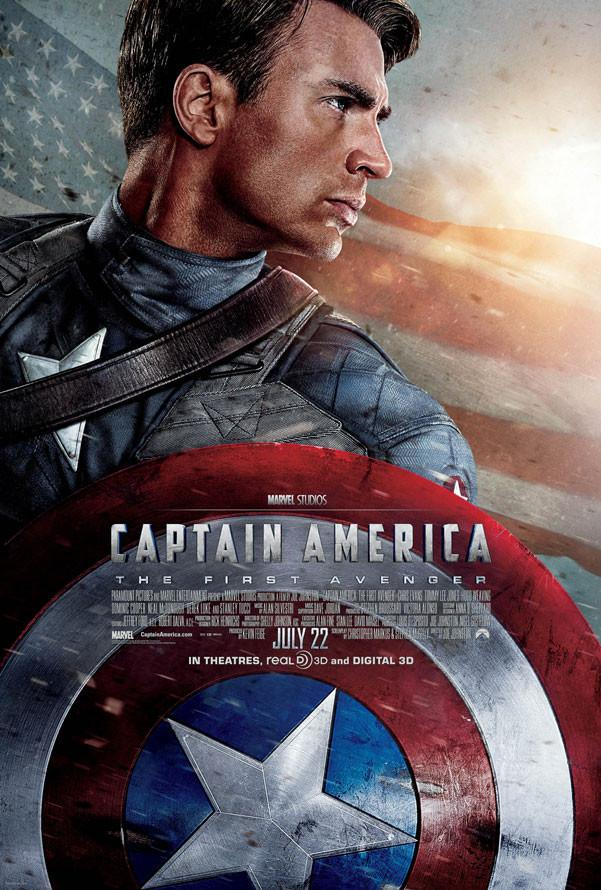Captain America The First Avenger Google Play HD (VUDU/iTunes via MA)