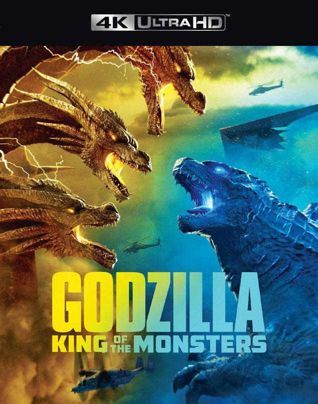 Godzilla King of Monsters VUDU 4K or iTunes 4K via MA